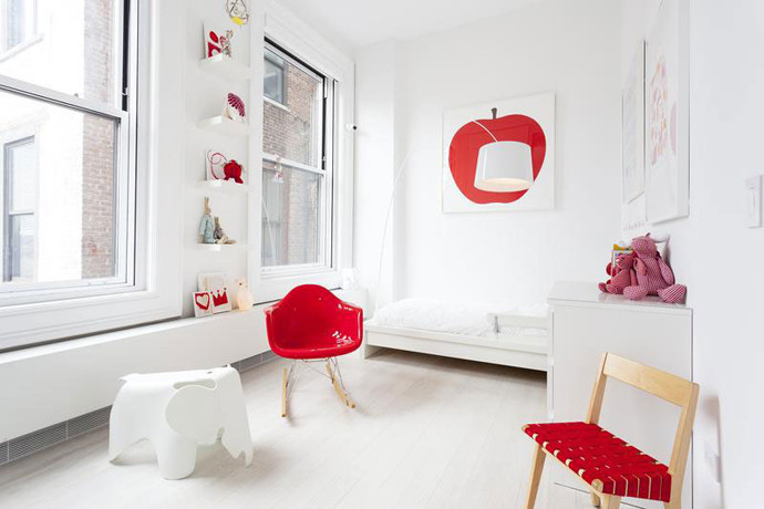 Spiffy-red-kids-rockery-chair-beside-ext
