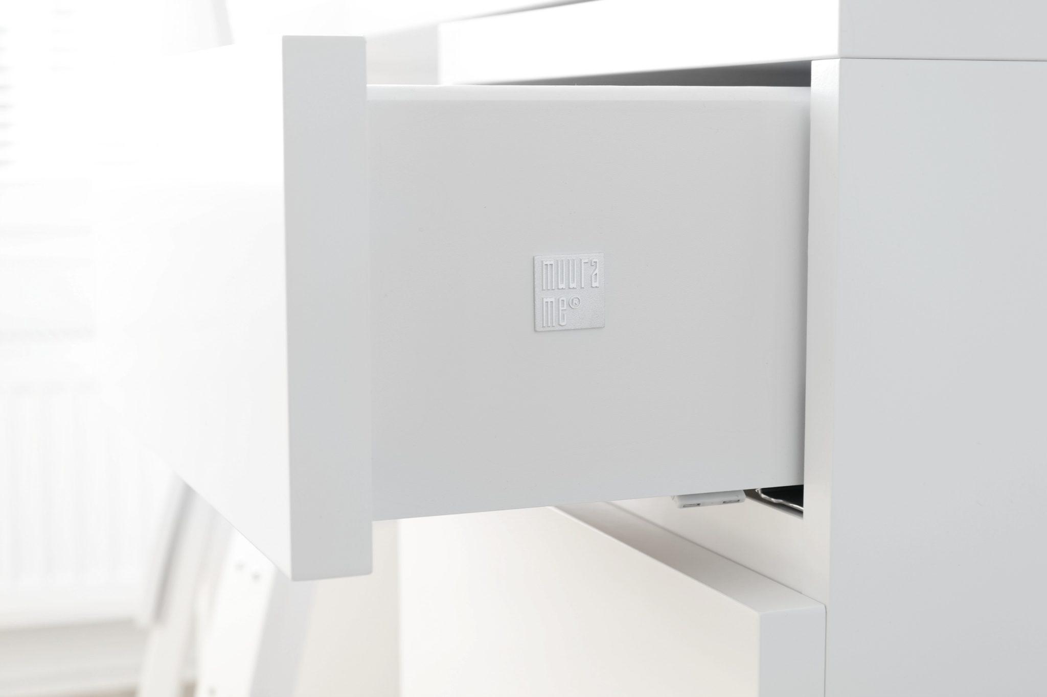 Muurame Pikku-Kolmonen laatikosto Omakotivalkoinen