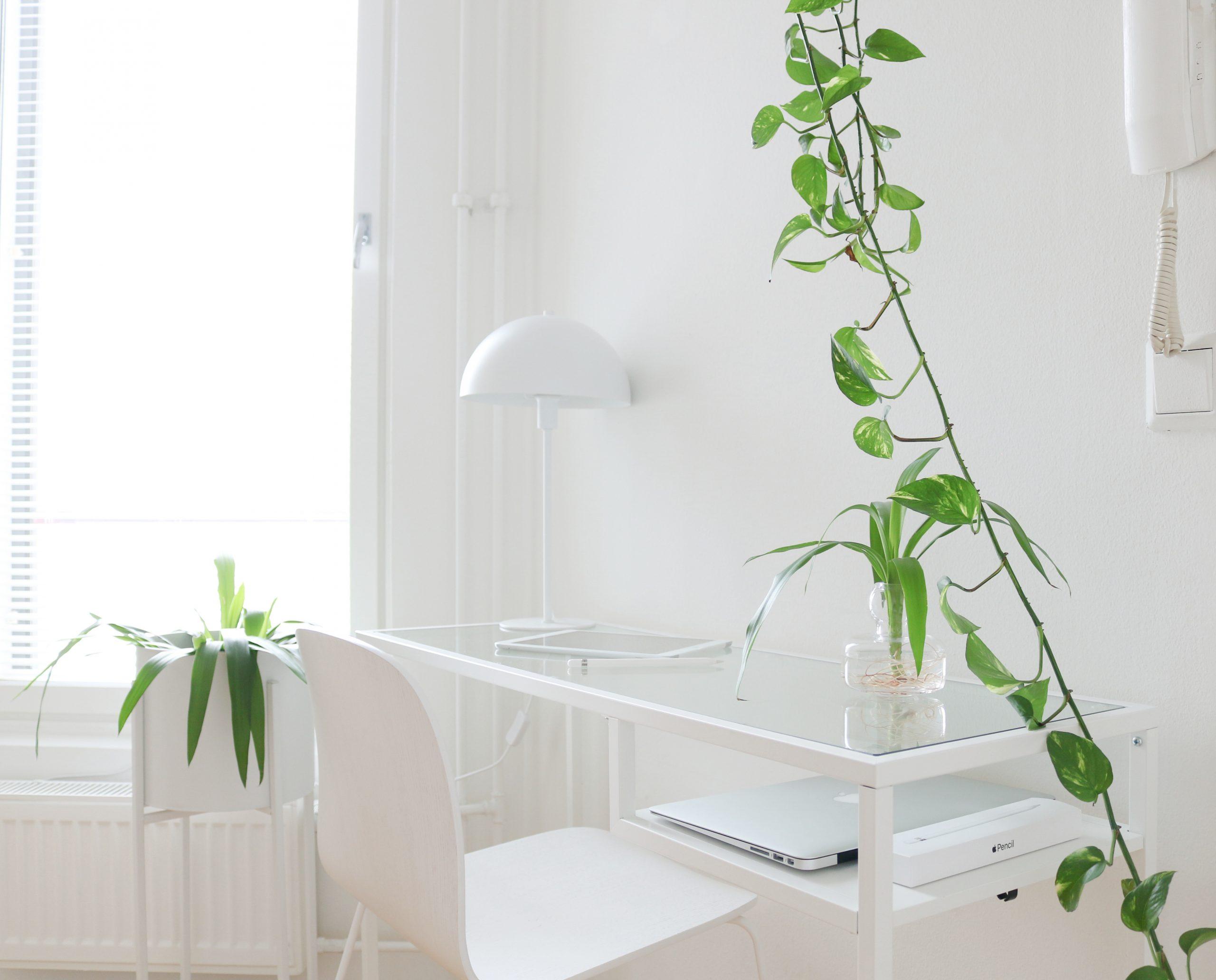Ikea Vittsjö pöytä sivutaso eteisessä Omakotivalkoinen