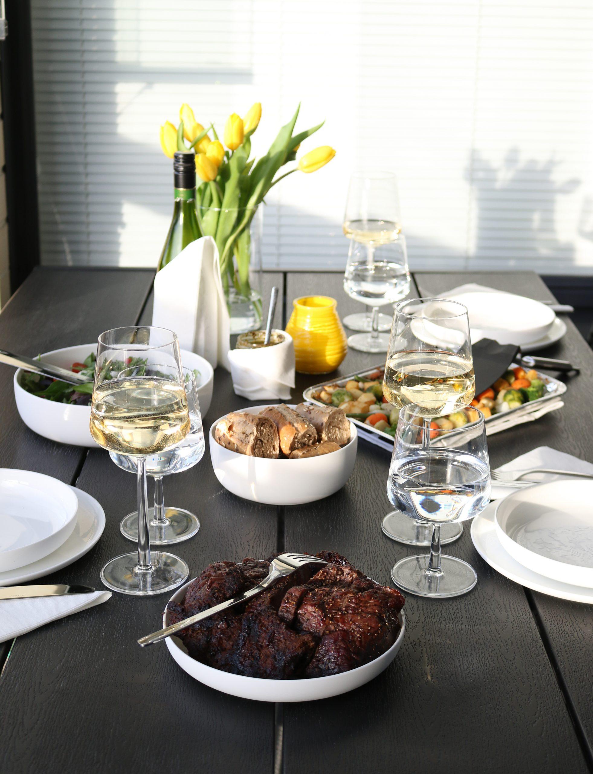 Kesäinen grillimenu yhdistelee suomalaisia ja välimerellisiä makuja
