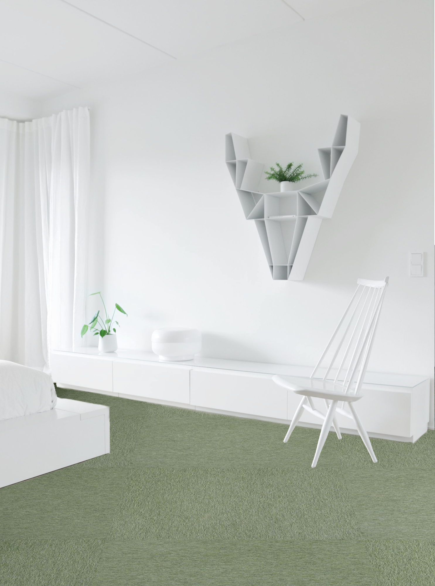 Tekstiililaatta uusi lattia vanhan päälle edullisesti ja nopeasti - Sisustusvinkit Omakotivalkoinen